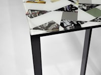 Losango Dining Table (Detail):   by Briggs & Cole