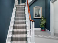 Fabulous colour Diamond: modern Corridor, hallway & stairs by Wools of New Zealand