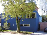 Fassade strassenseitig: moderne Häuser von heidenreich architektur