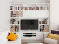 Projects: modern Living room by Fifty Fifty Furniture
