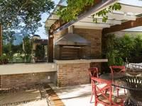 C&R.R - Bancada Pia: Terraços  por Kali Arquitetura
