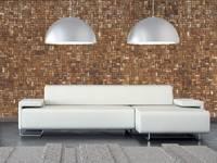 Cocomosaic | Wooden Bark Large: moderne Woonkamer door Nature at home | Cocomosaic | Wood4Walls