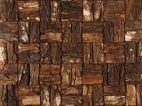 Cocomosaic | Wooden Bark Large:   door Nature at home | Cocomosaic | Wood4Walls