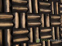 Cocomosaic I Grand Pyramid:   door Nature at home | Cocomosaic | Wood4Walls