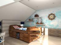 Pokój Marynarza: styl , w kategorii  zaprojektowany przez ArtDecoprojekt