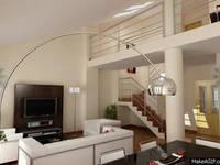 Edificio de viviendas: Salones de estilo mediterráneo de Estudio de arquitectura Galarza