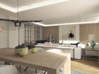 modern Dining room by Disak Studio