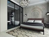 Дизайн-проект таунхауса 180 кв м в стиле Минимализм: Спальни в . Автор – Мастерская архитектуры и дизайна FOX