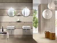 MINIMAL MOKA: Bagno in stile in stile Moderno di CERAMICHE BRENNERO SPA