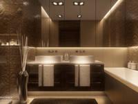 HOTELOWO: styl , w kategorii Łazienka zaprojektowany przez Ludwinowska Studio Architektury