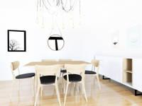 Apartamento Minimal:  de estilo  de Youdekor