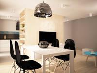 Projekt mieszkania: styl , w kategorii Jadalnia zaprojektowany przez InDecor Agnieszka Ligęza