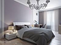 Чистота в полоску: Спальни в . Автор – Студия интерьера 'SENSE'