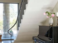 Underside of stone staircase: classic Corridor, hallway & stairs by Bisca Staircases