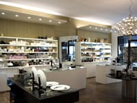 Make Up Profumeria: Spazi commerciali in stile  di Ailis Lighting Solutions