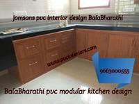 pvc kitchen cabinet in erode,pvc modular kitchen in erode,pvc wardrobes erode-balabharathi:   by balabharathi pvc interior design