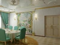 Дизайн студия 'Exmod' Павел Цунев: klasik tarz tarz Yemek Odası
