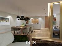 Merckt Groningen Interior Design: moderne Keuken door DUIN INTERIOR