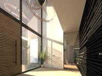 Woonhuis HBSG: moderne Gang, hal & trappenhuis door 2architecten