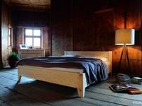 Massivholzbett aus Zirbenholz | Forcher:   von LIGNUM Schreinerei GmbH