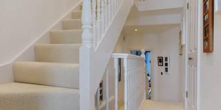 Projekty,  Korytarz, przedpokój i schody zaprojektowane przez MDSX Contractors Ltd