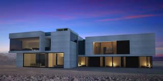Mongolian Dream House: Case in stile in stile Moderno di CAFElab studio