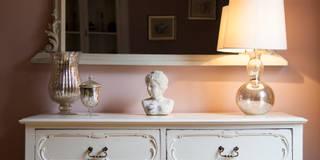 Гостиная в . Автор – Designs for Living by Claire Beckhaus