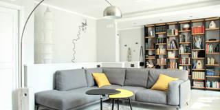 La zona relax: Soggiorno in stile in stile Moderno di Spazio 14 10 di Stella Passerini