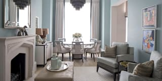 Living Room and Dining Area: classic Living room by Roselind Wilson Design