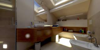 Progettazione d'Interni : Bagno in stile in stile Moderno di AAA Architettura e Design