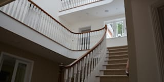 colonial Corridor, hallway & stairs by Sovereign Stairs