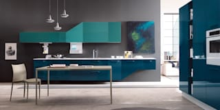 Cocinas de estilo moderno por Matteo Beraldi Design Office