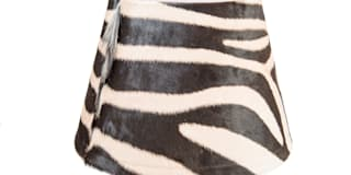 Zebra Lamp Shade:   by From Africa