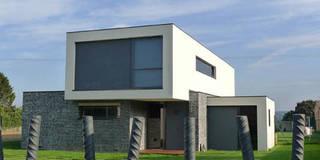 Vivienda en Pravio: Casas de estilo moderno de AD+ arquitectura