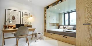 Dormitorios infantiles de estilo escandinavo por INT2architecture