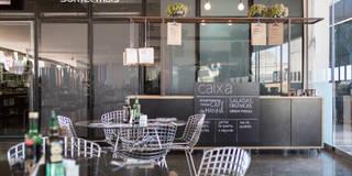 Restaurantes de estilo  por Semerene - Arquitetura Interior