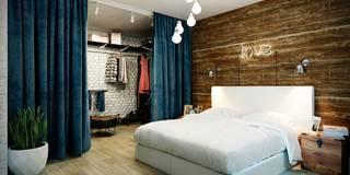 Projekty,  Sypialnia zaprojektowane przez CO:interior