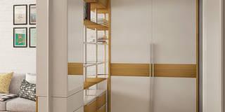 Projekty,  Korytarz, przedpokój i schody zaprojektowane przez CO:interior
