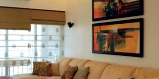 minimalistic Living room by The Orange Lane