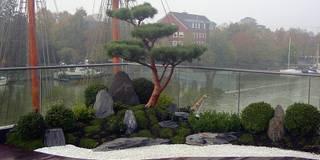 Zengarten auf Dachterrasse: asiatischer Garten von japan-garten-kultur