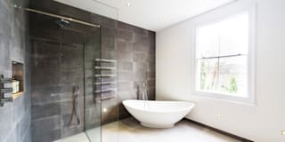 Contemporary new bathroom : modern Bathroom by Affleck Property Services