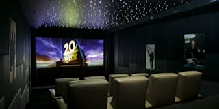 modern Media room by Finite Solutions