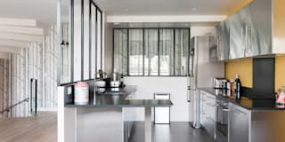 industrial Kitchen by am alexandra magne