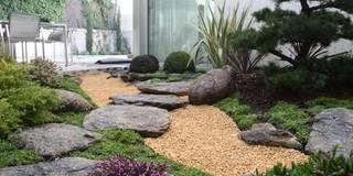 Jardines de estilo asiático por Jardines Japoneses -- Estudio de Paisajismo
