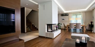 Dom w Krakowie : styl , w kategorii Łazienka zaprojektowany przez ARCHISSIMA