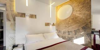 Projekty,  Sypialnia zaprojektowane przez Arch. Lamberto Grutter