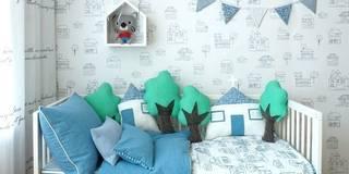 Projekty,  Pokój dziecięcy zaprojektowane przez jumine