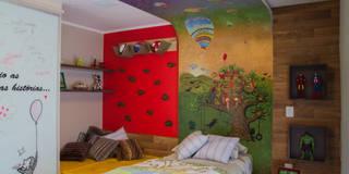Dormitorios para niños de estilo  por Tuti Arquitetura + Verde