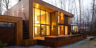 ДОМ В ПОСЕЛКЕ ПОЛИВАНОВО: Дома в . Автор –  Aleksandr Zhydkov Architect