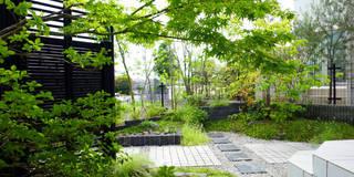 裏表つながるモノトーンな庭 2010~: にわいろSTYLEが手掛けた庭です。